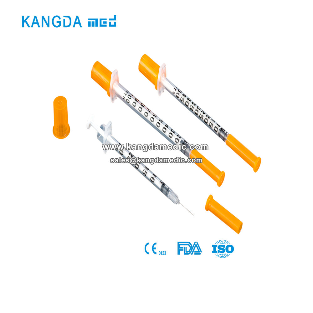Insulin Syringe With Unibody Needle